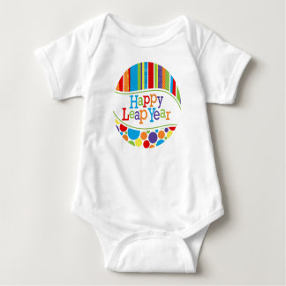 Body Para Bebê Equipamento recém-nascido feliz do ano de pulo