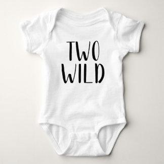 Body Para Bebê Equipamento selvagem do bebê dois