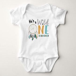 Body Para Bebê Equipamento selvagem do primeiro aniversario de