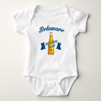 Body Para Bebê Equipe do bebendo de Delaware