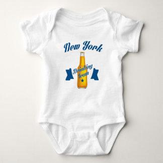 Body Para Bebê Equipe do bebendo de New York