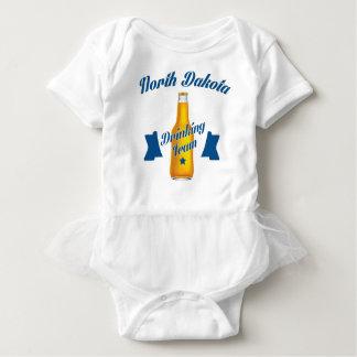 Body Para Bebê Equipe do bebendo de North Dakota