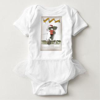 Body Para Bebê equipe do vermelho do capitão do futebol