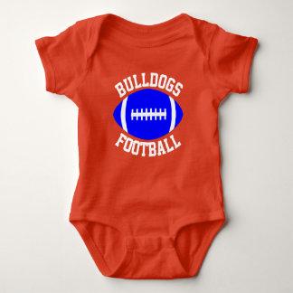 Body Para Bebê Equipe, jogador, cor & número feitos sob encomenda