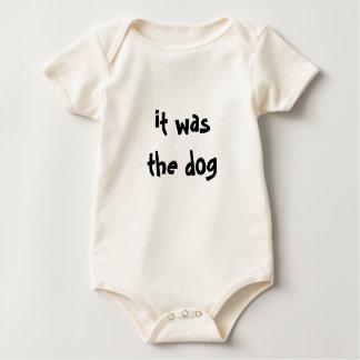Body Para Bebê Era o cão!