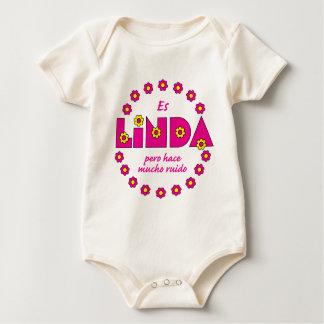 Body Para Bebê Es Linda, pero