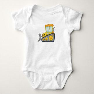 Body Para Bebê Escavadora customizável bonito