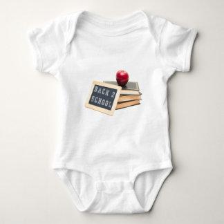 Body Para Bebê Escola da parte traseira 2