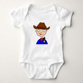 Body Para Bebê Esconderijo-camada Vaqueiro