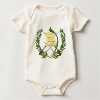Body Para Bebê Escudo de armas de Guatemala - brasão