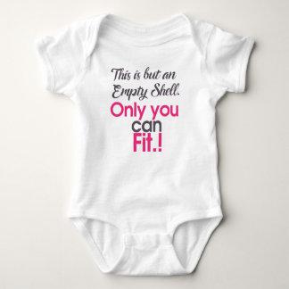 Body Para Bebê escudo do empt