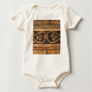 Body Para Bebê escultura de madeira do painel