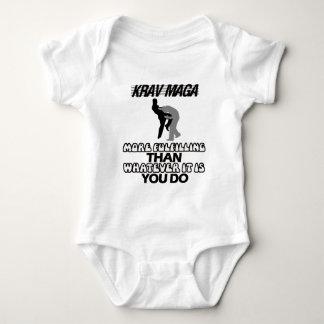 Body Para Bebê esfrie e tendendo o design do maga de Krav