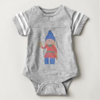 Body Para Bebê Espantalho bonito da queda
