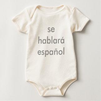 Body Para Bebê espaol hablar do SE