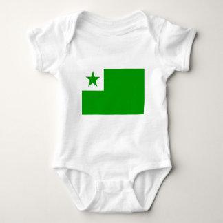 Body Para Bebê Esperanto-Bandeira