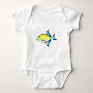 Body Para Bebê Esperimentoza - peixe lindo