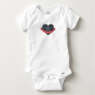 Body Para Bebê Esqueça que mamã das meninas é meus namorados