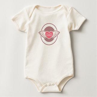 Body Para Bebê Esqueça que pai dos meninos é meus namorados