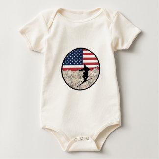Body Para Bebê Esqui América
