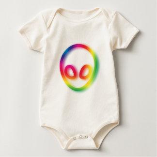 Body Para Bebê Esta alienígena não é cinzenta - seu quadril!