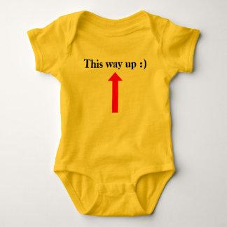 Body Para Bebê Esta maneira acima:)