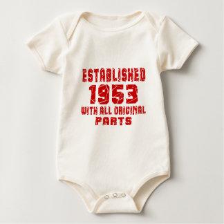 Body Para Bebê Estabelecido 1953 com todas as peças originais