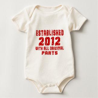 Body Para Bebê Estabelecido 2012 com todas as peças originais