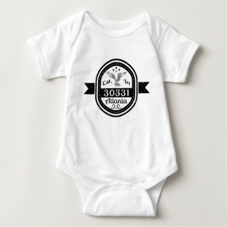 Body Para Bebê Estabelecido em 30331 Atlanta
