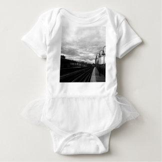 Body Para Bebê Estação de caminhos-de-ferro