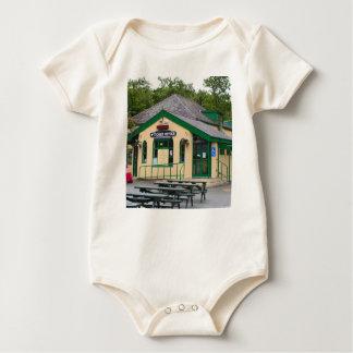 Body Para Bebê Estação de comboio da montanha de Snowdon,