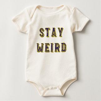 Body Para Bebê Estada estranha