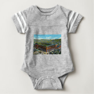 Body Para Bebê Estádio de basebol do parque de liga
