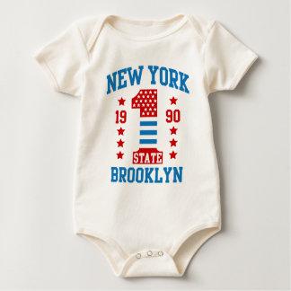 Body Para Bebê Estados de Nova Iorque Brooklyn