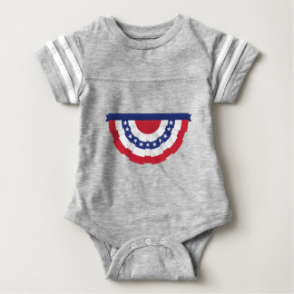 Body Para Bebê Estamenha da bandeira americana