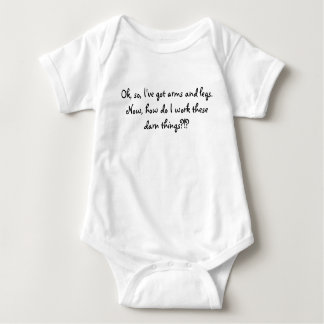 Body Para Bebê Estas coisas malditos?!? (Menina)