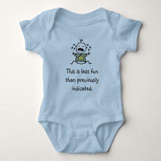 Body Para Bebê Este é menos divertimento do que indicado