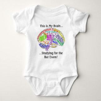 Body Para Bebê Este é meu exame de bar do cérebro…