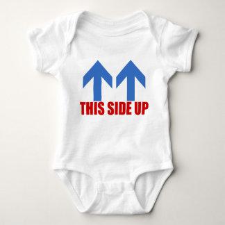 Body Para Bebê Este lado acima