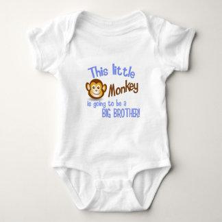Body Para Bebê Este macaco pequeno está indo ser um BIG BROTHER!