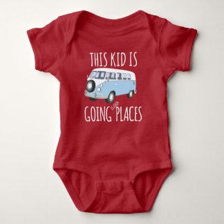 Body Para Bebê Este miúdo é lugares legal indo