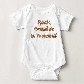 Body Para Bebê Esteira rolante da rocha no desgaste infantil de