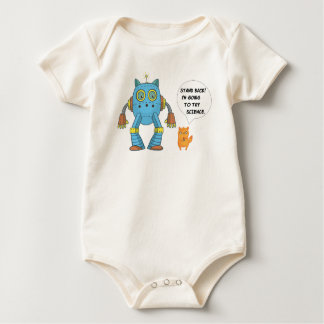 Body Para Bebê Esteja para trás indo tentar o gato engraçado do