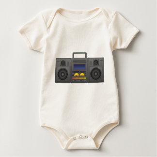 Body Para Bebê estilo Boombox de Hip Hop dos anos 80