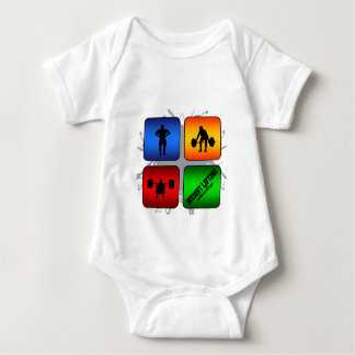 Body Para Bebê Estilo urbano surpreendente do levantamento de
