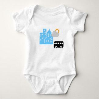 Body Para Bebê Estrada da manhã