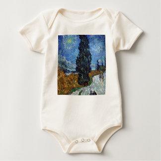 Body Para Bebê Estrada secundária de Vincent van Gogh em Provence