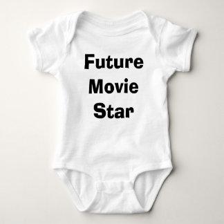 Body Para Bebê Estrela de cinema futura