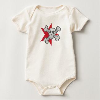 Body Para Bebê Estrela do crânio