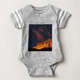 Body Para Bebê Estrela que olha